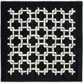 Safavieh Handmade Soho Black New Zealand Wool Rug - 6' x 6' Square
