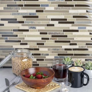 Somertile Reflections Piano Nassau Stone and Glass Mosaic Tiles (Pack of 5)|https://ak1.ostkcdn.com/images/products/5787977/P13510973.jpg?impolicy=medium