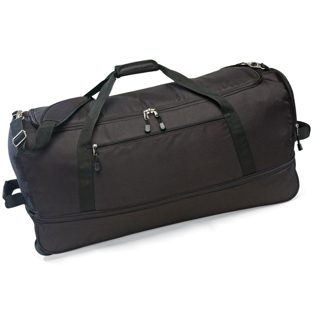G Pacific Ultra-lightweight 30-inch Foldable Wheeled Upright Duffel Bag - Thumbnail 0