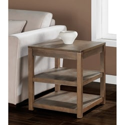 Shop Tacoma Weathered End Table Free Shipping Today