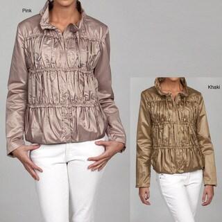 Nine West Women's Zip Front Jacket