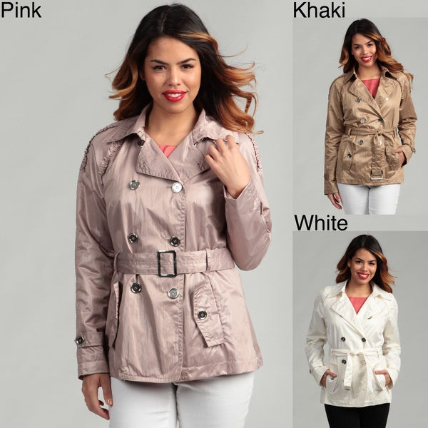 Nine West Women's Belted Trench Coat