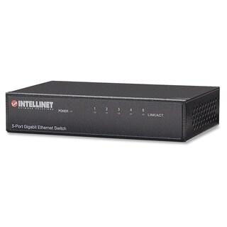 Intellinet 5-Port Gigabit Desktop Switch, Metal Housing
