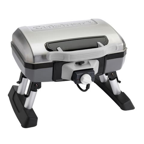 Cuisinart CEG-980T Portable Grey/ Black Outdoor Electric Tabletop Grill