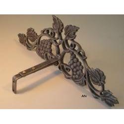 Vineyard Scroll 14-inch Drapery Crown