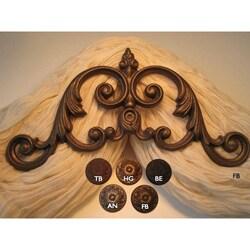 Verona Scroll 14-inch Drapery Crown