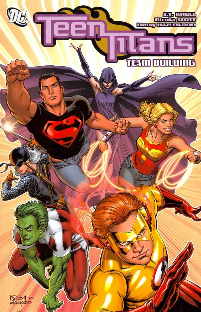 Teen Titans: Team Building (Paperback)