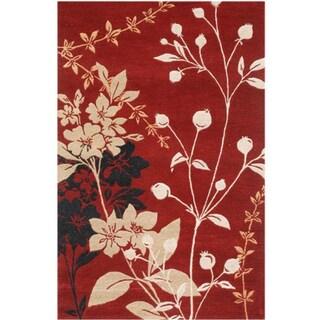 Hand-tufted Iseala Wool Rug (5' x 8')