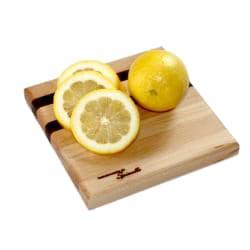U-Board Small Hard Maple Wood and Walnut Cutting Board - Thumbnail 1