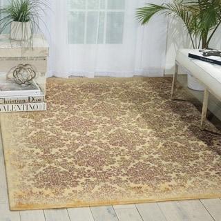Nourison Chambord Ivory Floral Rug (5'6 x 7'5)