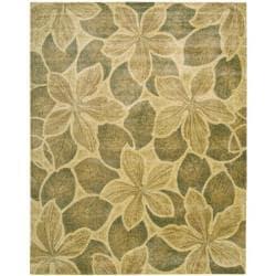 Nourison Chambord Gold Floral Rug (2' x 5'9) - Thumbnail 2