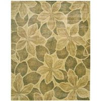 Nourison Chambord Gold Floral Rug - 2' x 5'9