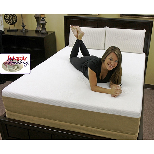 Orthopedic 8 Inch 3 Layer Queen Size Latex Mattress Free