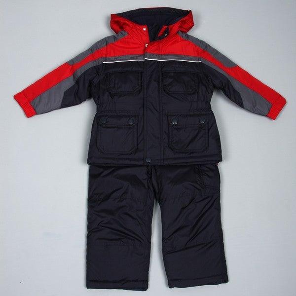 8420b4952750 Shop London Fog Boy s Snowsuit FINAL SALE - Free Shipping On Orders ...