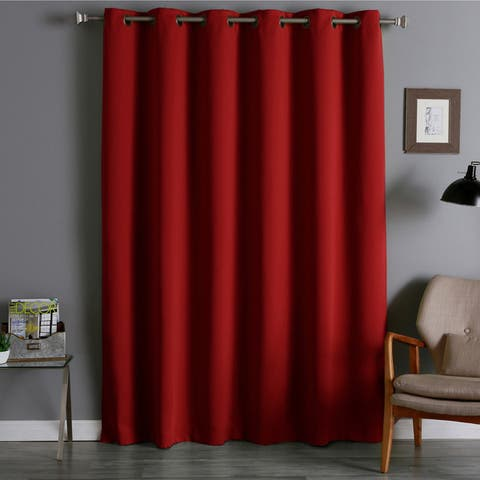 Aurora Home Wide Thermal Blackout Curtain Panel - 80 x 95