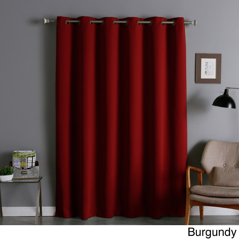 Thermal Blackout Curtain Panel