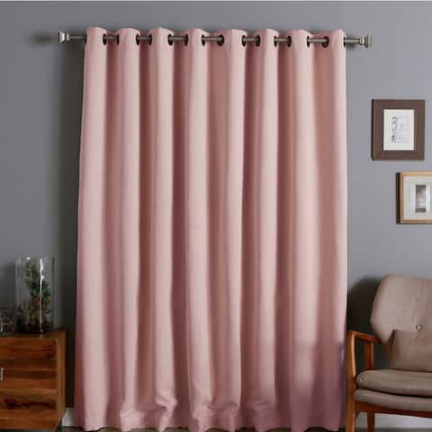 Aurora Home Extra Wide Thermal 96-inch Blackout Curtain Panel - 100 x 96 - 100 x 96
