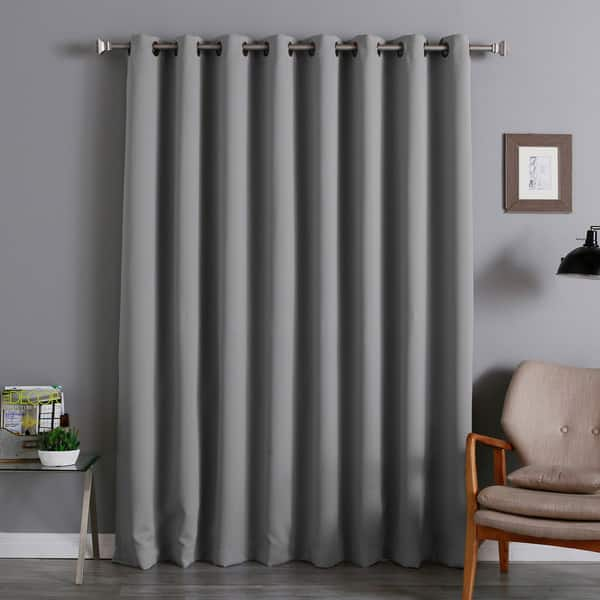 Shop Aurora Home Extra Wide Thermal 100 X 84 Inch Blackout