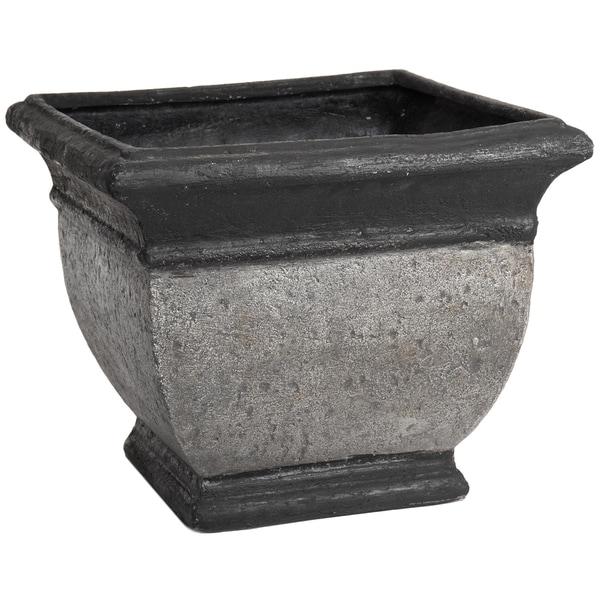 SomerTile Mediterranean Stoneware 13x15.5-inch Palermo Planter