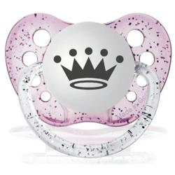 Personalized Pacifiers Princess Crown Pacifier in Pink