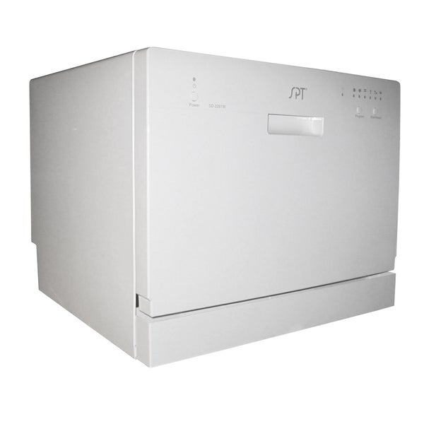 SPT SD-2201W White Countertop Dishwasher - Free Shipping Today ...