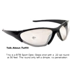 Crystal Black BTB 860 Sport Sunglasses
