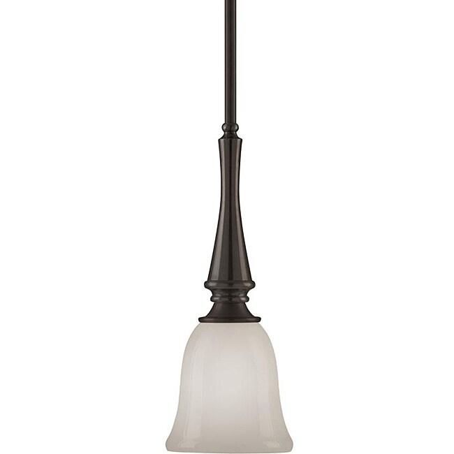 Indoor 1-light Bronze Mini Lighting Pendant