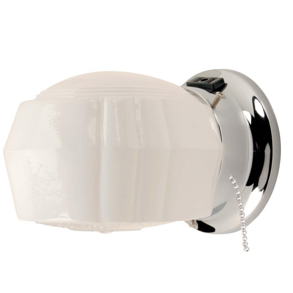 Transitional 1-light Chrome Bath Fixture
