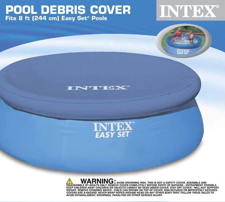 Intex Round Easy Set Pool Cover (8 x 12)