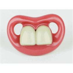 Two Front Teeth Baby Bugs Pacifier - Thumbnail 2