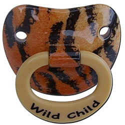 Wild Child Tiger Pacifier