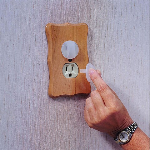 KidCo Transparent Electrical Outlet Caps (Pack of 36)