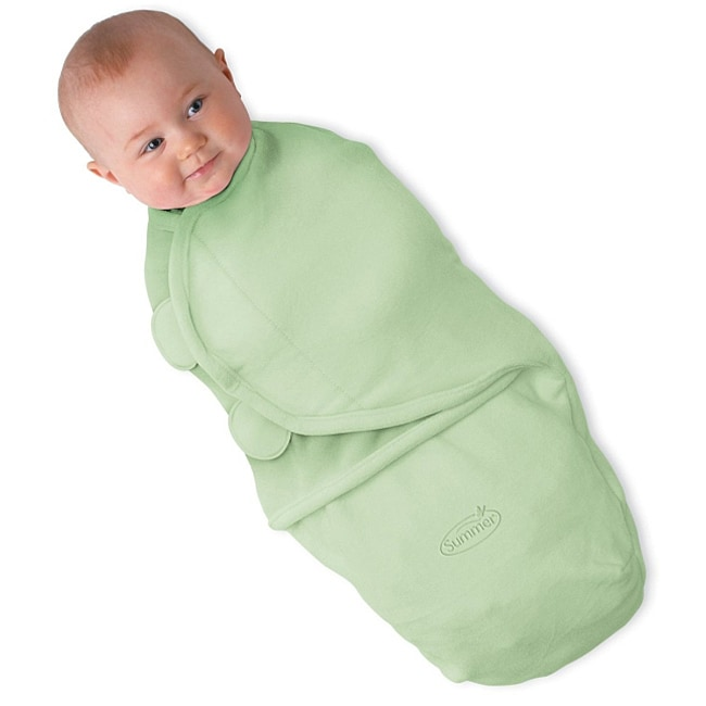 17efa6a786d Shop Summer Infant SwaddleMe Large Microfleece in Green - Free Shipping On  Orders Over  45 - Overstock - 5798099