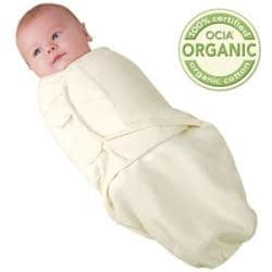Summer Infant Natural Large Organic Cotton SwaddleMe Blanket