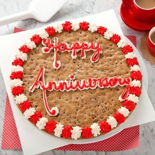 Mrs. Fields 'Happy Anniversary' Cookie Cake