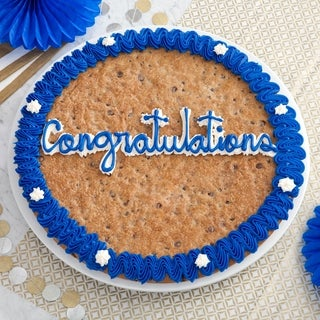 Mrs. Fields 'Congratulations' Chocolate Chip Cookie Cake