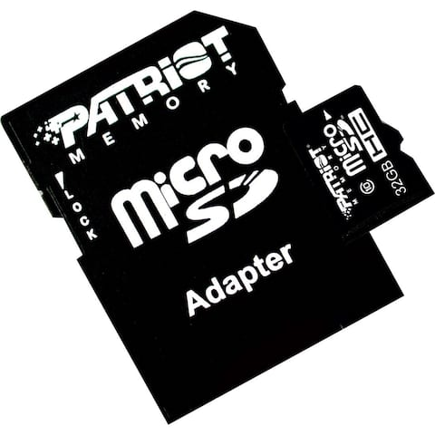 Patriot Memory 32GB microSDHC Class 10 Flash Card