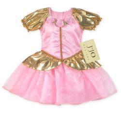Sweet JoJo Designs Pink Pincess Costume Dress