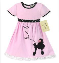 Sweet Jojo Designs Girls' Poodle Swing Costume Dress
