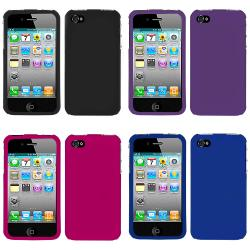 Premium Apple iPhone 4 Rubberized Case - Thumbnail 1