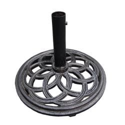 Cast Iron Black Umbrella Base - Thumbnail 1