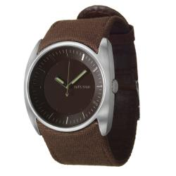 Nixon Men's 'The Esquire' Stainless Steel and Fabric Quartz Watch - Thumbnail 1
