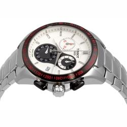 Tissot Men's 'Veloci-T' Stainless Steel Chronograph Watch