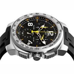 Tissot Men's 'T-Sport PRS 330' Black Face Chronograph Watch