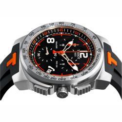 Thumbnail 2, Tissot Men's 'T-Sport PRS 330' Rubber Strap Chronograph Watch. Changes active main hero.
