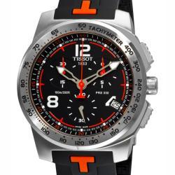 Thumbnail 1, Tissot Men's 'T-Sport PRS 330' Rubber Strap Chronograph Watch.