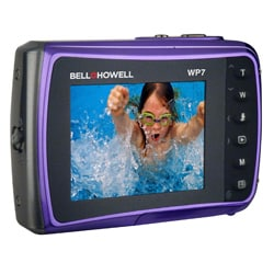 Bell + Howell Splash WP7 12MP Waterproof Purple Camera - Thumbnail 1
