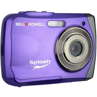 Bell + Howell Splash WP7 12MP Waterproof Purple Camera