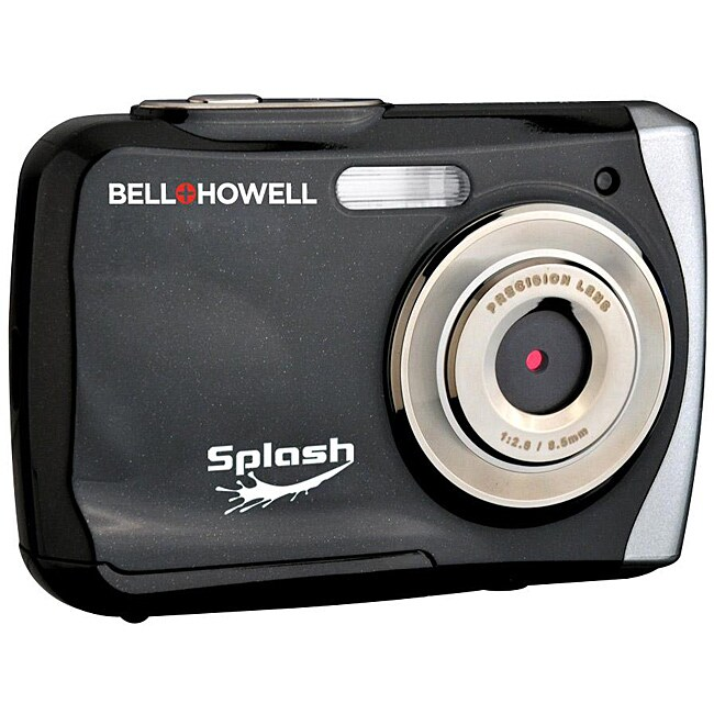 Bell + Howell Splash WP7 12MP Waterproof Black Camera - Thumbnail 0