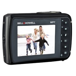 Bell + Howell Splash WP7 12MP Waterproof Black Camera - Thumbnail 1